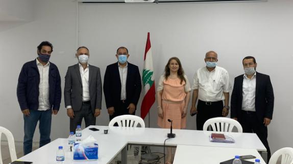 اللقاء التقدمي للأساتذة الجامعيين بحث والمكتب التربوي لحركة أمل أوضاع الجامعة اللبنانية
