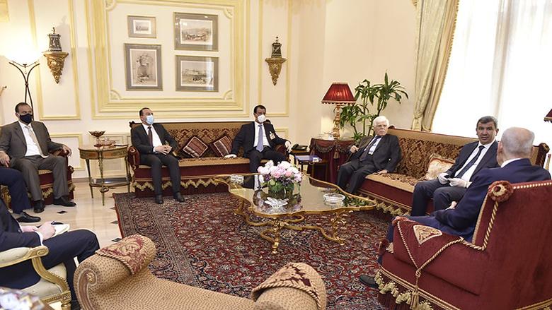 بري التقى الوفد الوزاري العراقي... وزير النفط: مستعدون لتسهيل الإجراءات للاستفادة من الخبرات اللبنانية