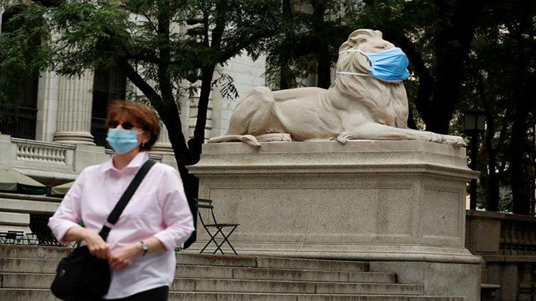 """أكثر من 53 ألف حالة إصابة جديدة بـ""""كورونا"""" في الولايات المتحدة الأميركية"""