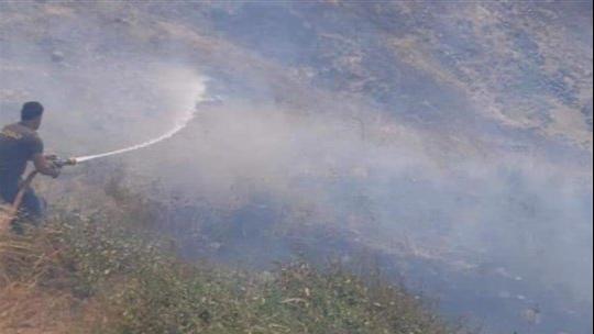 الدفاع المدني يُخمد سلسلة حرائق في بلدات عكارية