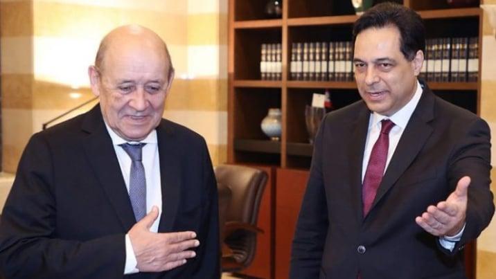 دياب يفرّط في الدعم الفرنسي والأوروبيون يشكون انقلابه على قراراته