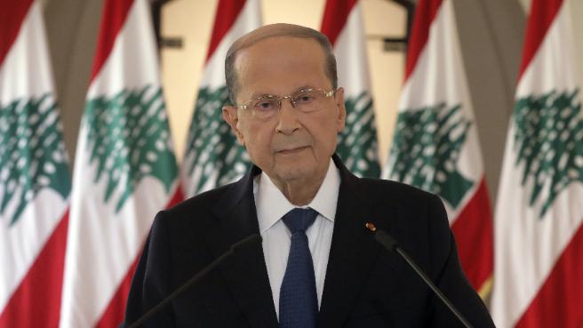 رئيس الجمهورية متوجها الى الضباط الخريجين: واجبكم أن تظلوا العين الساهرة على سيادة لبنان