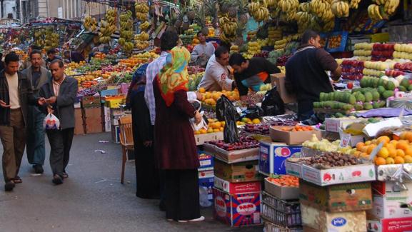 تراجع تضخّم الأسعار في مصر