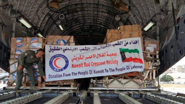 المساعدات الكويتية إلى لبنان تستمر.. هذه آخر فصولها