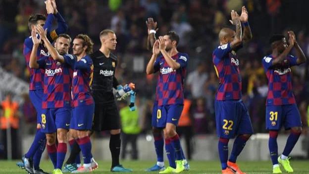 تسريب خطة برشلونة لمواجهة بايرن ميونيخ