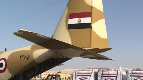 طائرتا مساعدات مصريتان تصلان الى لبنان غداً