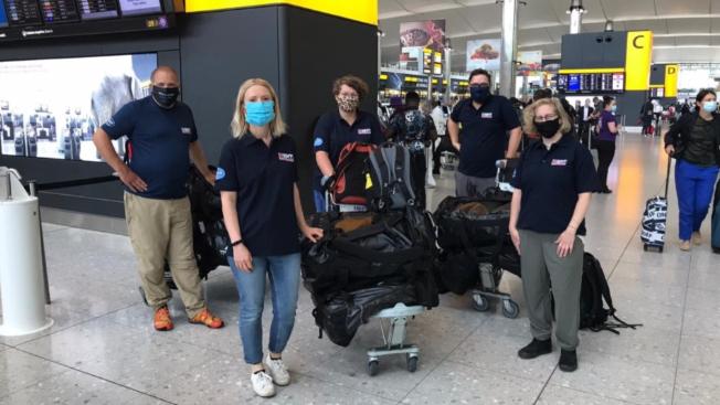 فريق طبي بريطاني ثان يتوجه إلى بيروت لمساعدة المستشفيات في السيطرة على فيروس كورونا