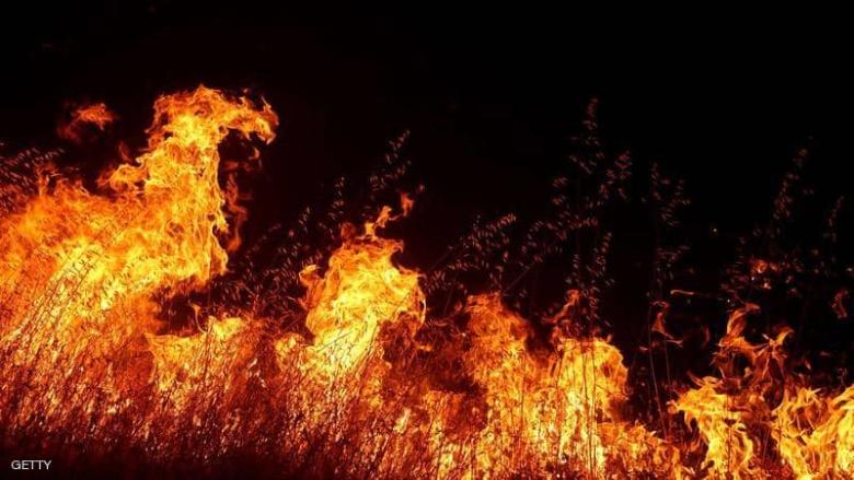 النيران تلتهم غابات كاليفورنيا وفرار عشرات الآلاف