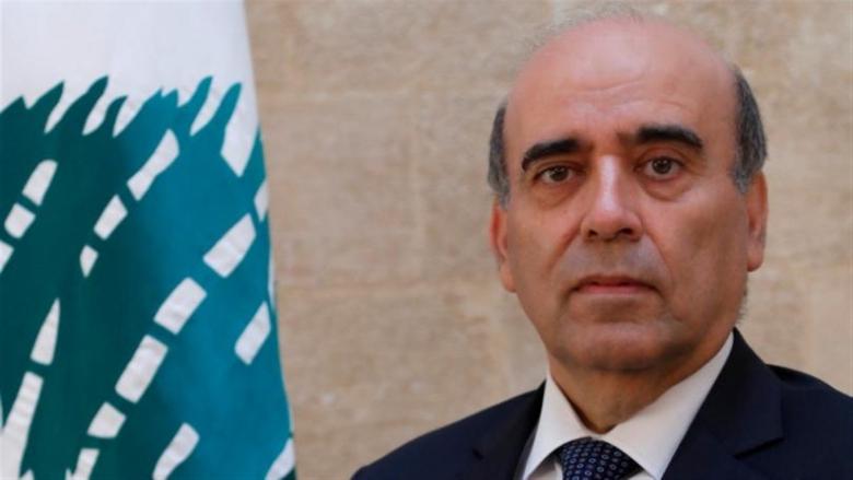 وهبة التقى 3 سفراء... السفير المصري: اللبنانيون ليسوا بحاجة لمن يقول لهم كيف يشكلون حكومة