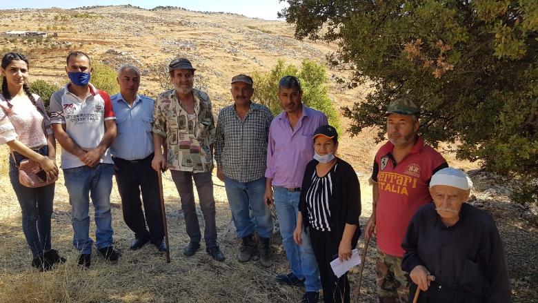 وقفة إحتجاجية في محمية كوكبا رفضا لقطع الأشجار