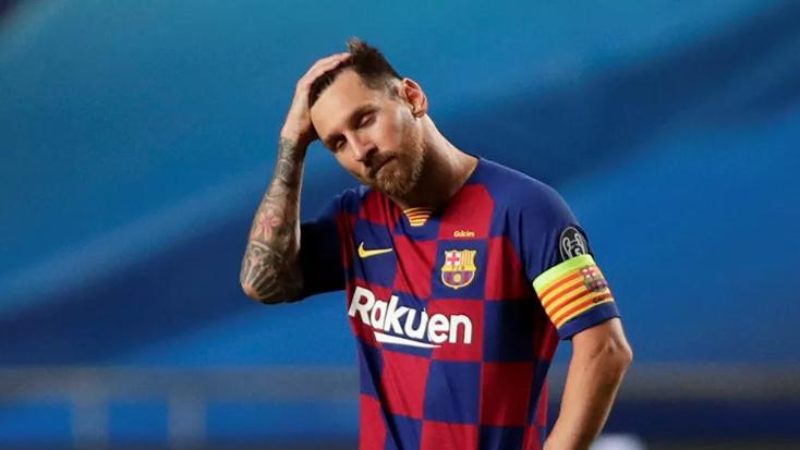 برشلونة لا يزال لديه أمل في إقناع ميسي بالعدول عن قرار الرحيل