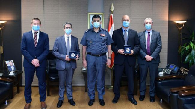 عثمان استقبل ملحق الأمن الداخلي لدى السفارة الفرنسية