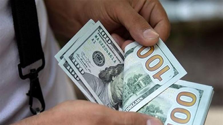 إرتفاع ملحوظ في سعر صرف الدولار في السوق السوداء