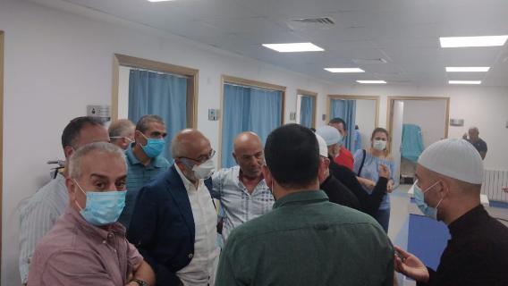 بالصور: إجلاء أكثر من 200 جريح إلى مستشفيات عاليه وجولة تفقديّة للتقدمي