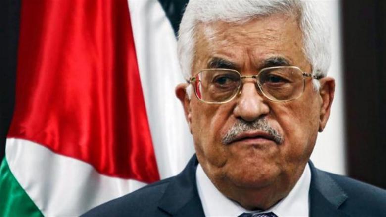 عباس أعلن الحداد وتنكيس الاعلام تضامناً مع الشعب اللبناني