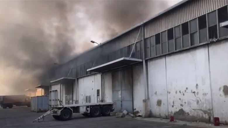 فيديو لعناصر في فوج إطفاء بيروت في العنبر رقم 12 قبل الانفجار الكبير في مرفأ بيروت