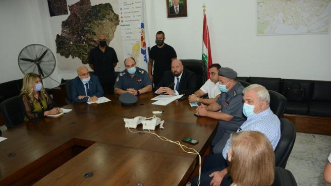 اجتماعا لادارة الكوارث في الشمال بحث في تداعيات انفجار مرفأ بيروت