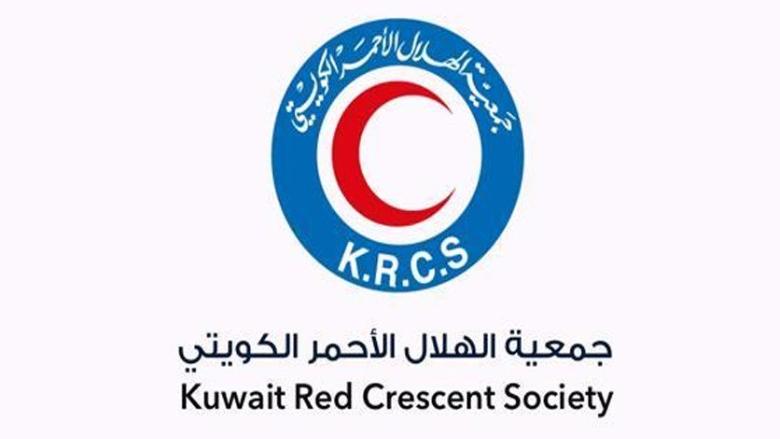 الهلال الاحمر الكويتي يتبرع بسيارات اسعاف ومعدات طبية لصالح الصليب الاحمر اللبناني
