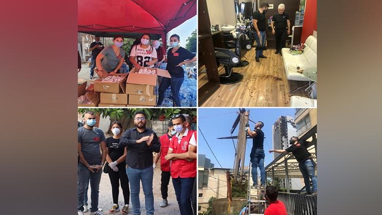 """""""شباب الواجب""""... حملة لـ """"الشباب التقدمي"""" تضامناً مع بيروت"""