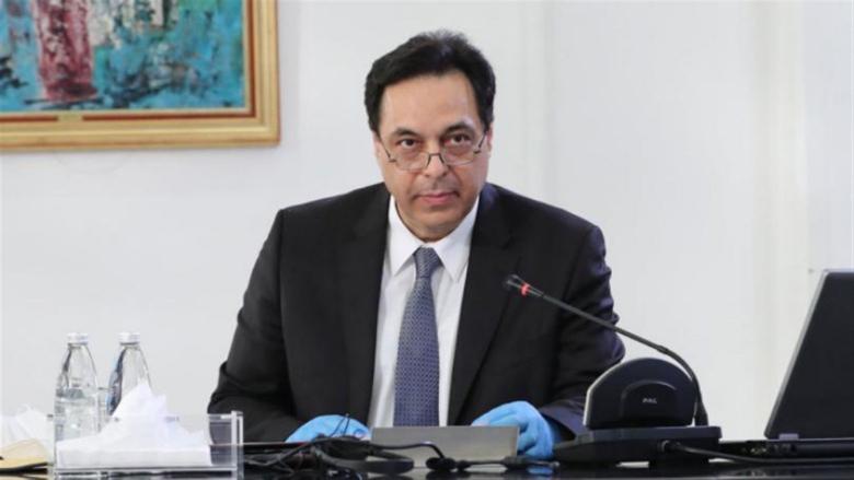 دياب يوعز الى وزير المالية لإلغاء الرسوم الجمركية عن الهبات