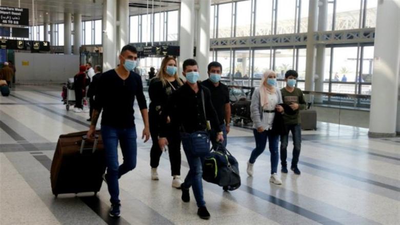 نتائج الدفعة الأولى من فحوص الـPCR للرحلات القادمة إلى بيروت في 6 آب