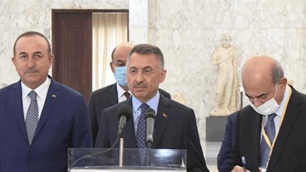 نائب الرئيس التركي من بعبدا: تركيا تقف الى جانب لبنان وستقدم له المساعدات