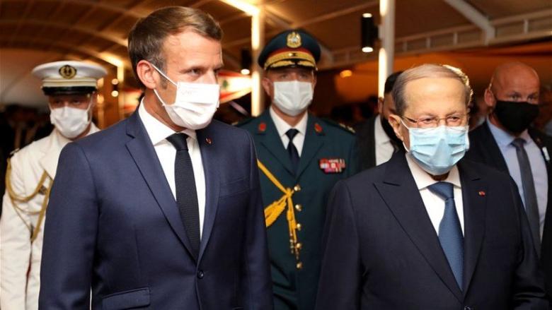 عون: بيروت الجريحة ولبنان بأسره يحييان الاندفاعة الأخوية لفرنسا