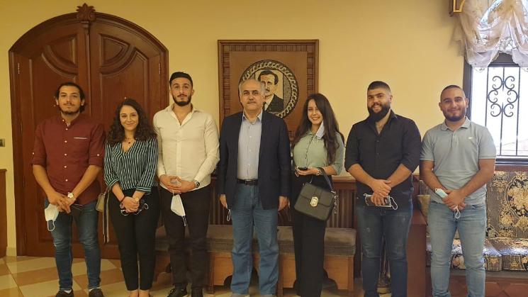 """""""الشباب التقدمي"""": مكتب المتن يناقش خطته المستقبلية مع أبو الحسن والمصري"""