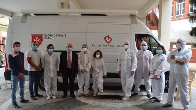 منظمة مالطا أعلنت تخصيص طرابلس وجوارها بمركز طبي نقال يوفر خدمات مجانية