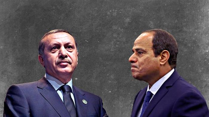 ليبيا والعلاقات المصرية التركية