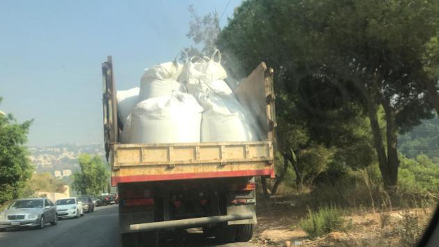 بالصورة: بلدية عين عنوب توضح حقيقة شاحنات النقل وحمولتها