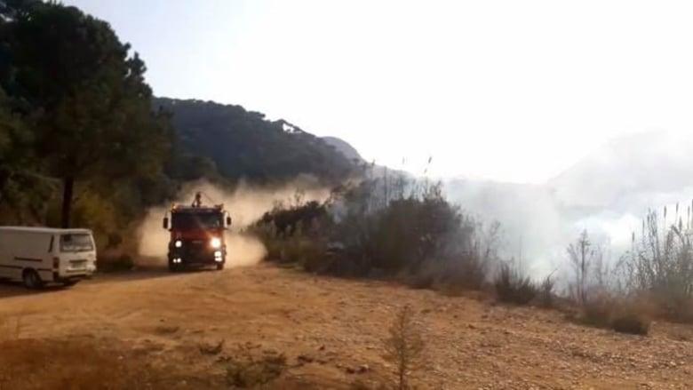 """""""الحركة البيئية اللبنانية"""" تكشف حقائق """"خطيرة"""" حول حريق بسري الأخير"""
