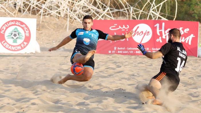 انطلاق بطولة لبنان لكرة القدم الشاطئية