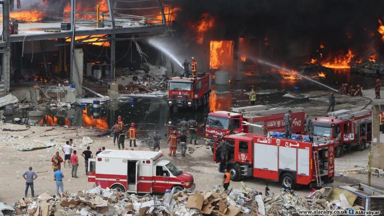 القاضي بو سمرا يباشر تحقيقاته في حريق مرفأ بيروت