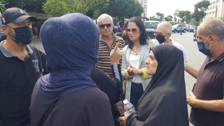"""وقفة تضامنية لأهالي """"الموقوفين الإسلاميين"""" في طرابلس بمشاركة """"التقدمي"""""""