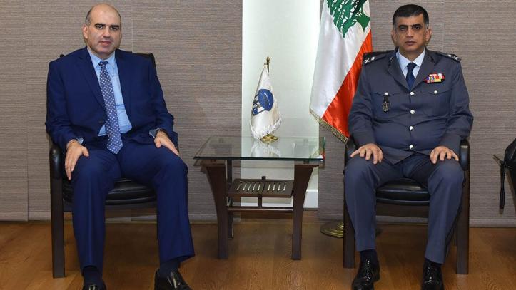 اللواء عثمان بحث مع مدير عام الزراعة في التعاون بين قوى الامن والوزارة