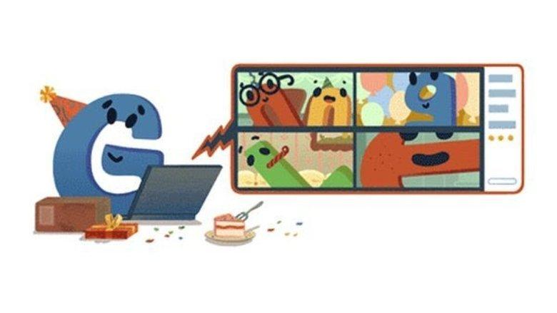 غوغل يحتفل بعيد ميلاده الـ22