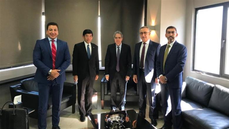 وزني استقبل الأمين العام للمنظمة العالمية للجمارك