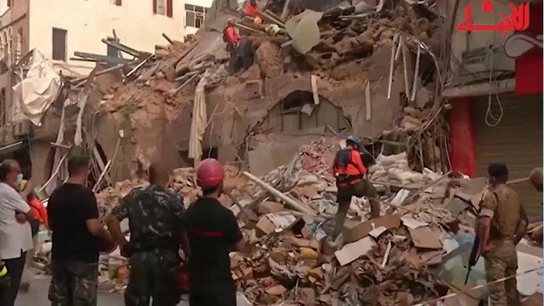 أمل بمعجزة بعد شهر على الإنفجار
