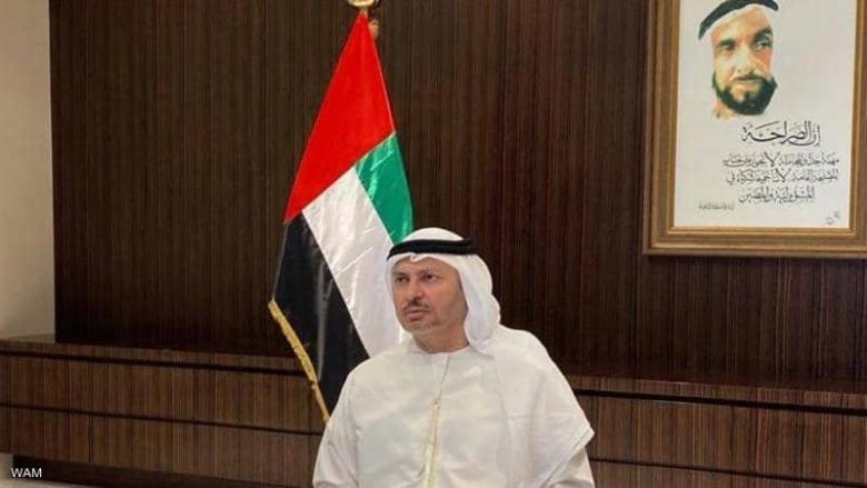 قرقاش: معاهدة السلام لن تكون على حساب القضية الفلسطينية