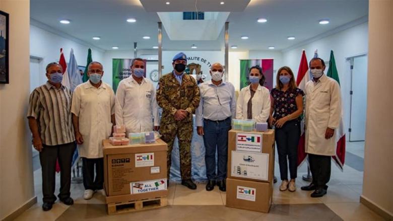 جهاز PCR من الكتيبة الإيطالية الى بلدية صور