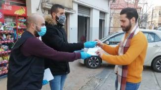 حملة توعوية للتقدمي في الإقليم وتوزيع للكمامات