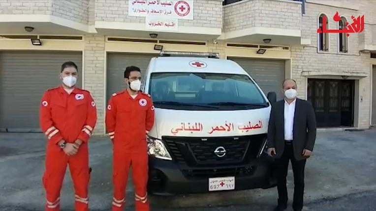 مركز جديد للصليب الأحمر في داريا بدعم من جنبلاط وفاعليات الاقليم