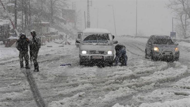 إليكم الطرقات الجبلية التي قطعتها الثلوج