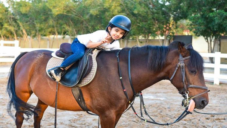 ركوب الخيل يحسّن القدرات المعرفية للأطفال