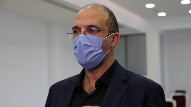 مستجدات حالة وزير الصحة