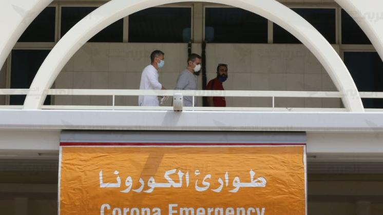 """مستشفى الحريري: حالة وفاة بـ""""كورونا"""" و41 حالة حرجة"""