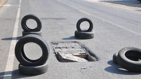 بالفيديو: مشاهد مخيفة على الطرقات العامة.. ونداء للمعنيين