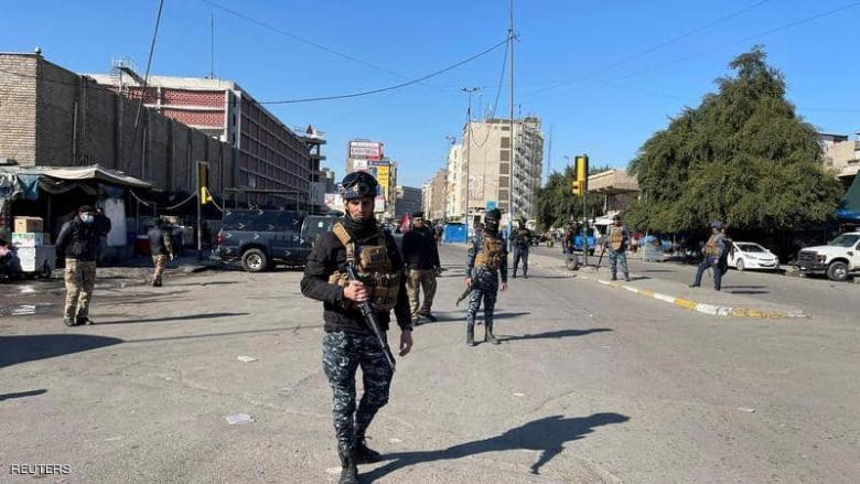 العراق.. قتلى وجرحى في تفجيرين وسط بغداد