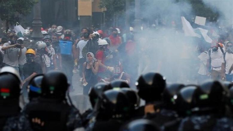 """""""العفو الدولية"""" تندد باستخدام لبنان أسلحة فرنسيّة لقمع تظاهرات سلميّة"""